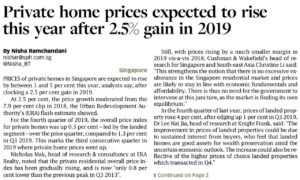 Mori-Condo-Private-home-prices-expected-to-rise-this year-after-2.5% gain-in-2019